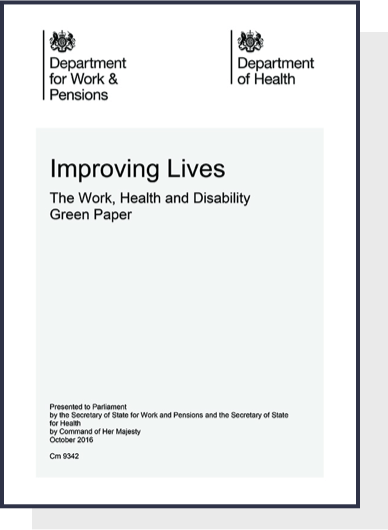 Improving Lives, Work, Health and Disability